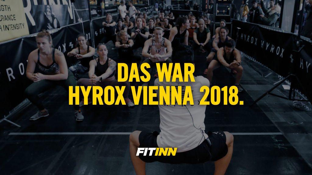 Das war HYROX 2018 in Wien: